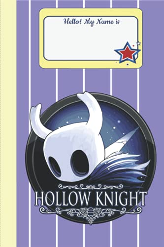 Hollow Knight Composition Notebook Merch: Hollow Knight Book | Notepad Book 6x9 inches (114 Pages) With Premium Thick Blank