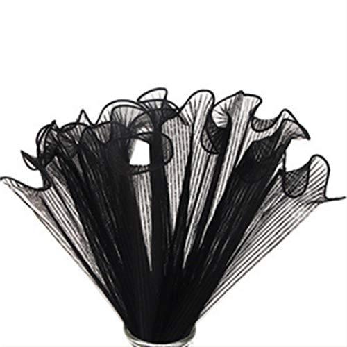 4m / Roll Ola Hilado Floral Embalaje Papel de Encaje DIY Crafts Scrapbook Boda Bouquet Regalo Caja de Regalo Impermeable Envapa Origami Papel (Kleur : Flesh Pink)