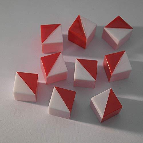 9Cubes de Kohs Blanc et Rouge