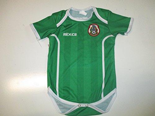 V1 Clothing CO seleccion Mexicana Oneseis Baby/Toddler Jersey Liga MX Chivas America Mexico (red, 18-24 Meses)
