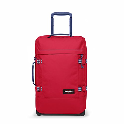Eastpak TRANVERZ S Bagaglio a mano, 51 cm, 42 liters, Rosso (Blakout Stop)