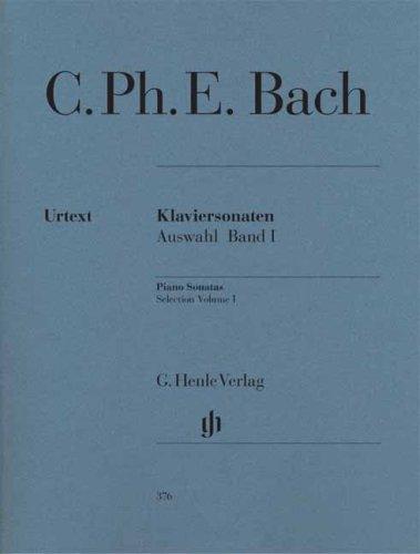 Klaviersonaten, Auswahl, Band I