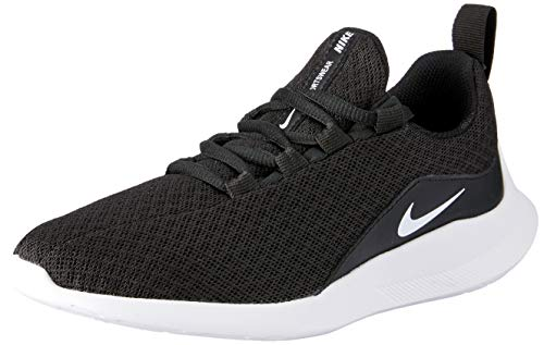 Nike Viale (PS) Chaussures de Running Compétition garçon, Noir (Black/White 002), 32 EU