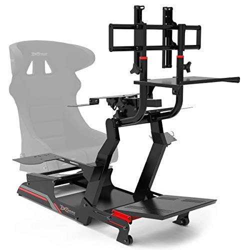 Extreme Simracing Cockpit CHASSI 3.0 Racing Simulator For Logitech G25, G27, G29, G920, Thrustmaster And Fanatec - Heavy Dutty Construction - Complet With all Accessories - NOSEAT