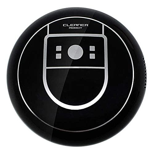 Automatischer kehrender Mopping-Roboter - tragbarer slimischer Teppichreiniger-Maschine USB-Aufladung starker Saugstaubsauger, Staubfänger für Teppichbodenreinigung Haustierhaar, weiß / Commodity-Code