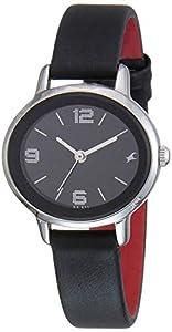 Fastrack Analog Black Dial Women's Watch NM6107SL02/NN6107SL02