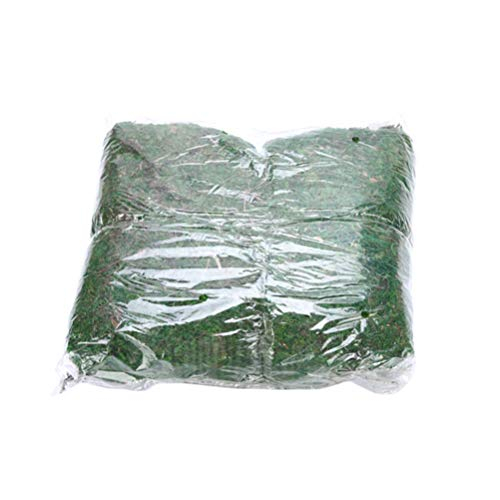 SUPVOX 1 Paquete de Musgo Artificial Musgo Falso Decorativo Realista Plantas Verdes Plantas Artificiales Musgo fause para decoración jardín
