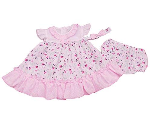 Nursery Time - Robe - Été - Bébé (fille) 0 à 24 mois - Blanc - 4-6 ans