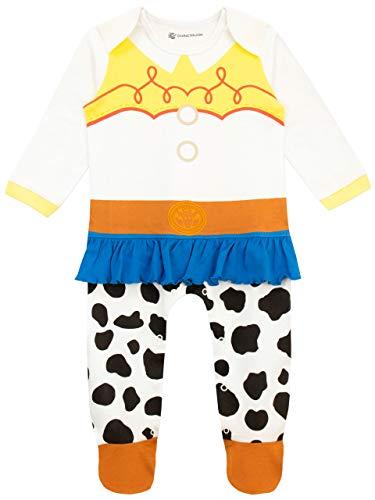 Disney Baby Girls' Toy Story Footie Jessie Multicolored Size 6-9M