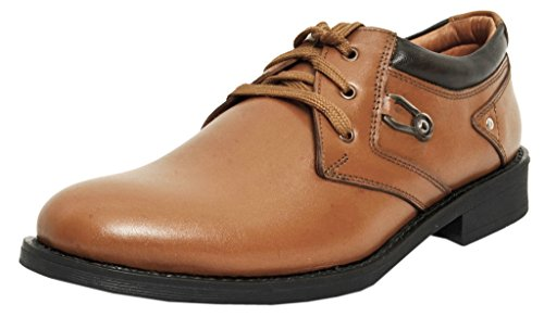 Zoom Formal Shoes for Men Genuine Leather Shoes Online 4024-Tan -7