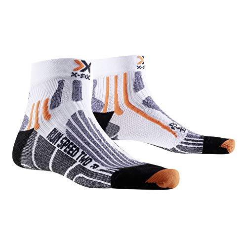 X-SOCKS Speed 2 39/41 - Calcetines para mujer, color blanco