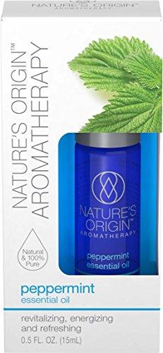 Nature's Origin™ Aromatherapy Peppermint Essential Oil, 15 ml