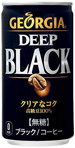 ジョージア ディープブラック 185g缶 ×30本