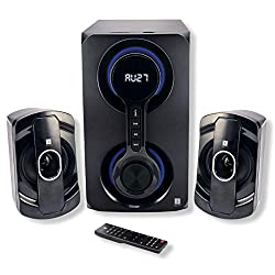 iBall Heavy Bass Thunder 2.1 Multimedia Speakers (Black),iBall,IBALL_THUNDER_2.1
