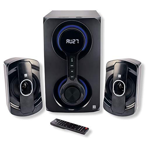 iBall Heavy Bass Thunder 2.1 Multimedia Speakers (Black)