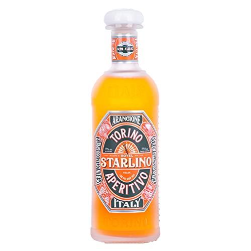 Starlino Arancione Aperitivo 17% Vol Alkohol - fruchtiger italienischer Wein Aperitif aus sizilianischen Blutorangen - lecker mit Tonic für den perfekten Spritz Drink oder Cocktail (1 x 0,75l Flasche)