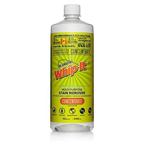 Amazon com: Whip-It Multi-Purpose Stain Remover - 32oz Concentrate
