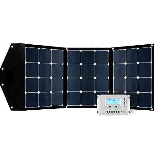 Offgridtec© FSP 2 Ultra 120W faltbares Solarmodul mit integrierter Aufständerung und Laderegler mit USB Ladefunktion