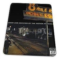 マウスパッド8 Mile Eminem 8マイルエミネム 滑り止め ゲーミング 耐摩耗性 高耐久性 疲労低減 水洗い ファッション オフィス/ゲーム/パソコンなどに適用 (4サイズを選択可能)
