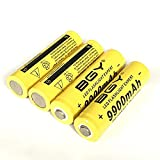 Pilas Recargables 18650Bgy Batería De Litio 3.7V9900Mah Batería.3,7 V 5 Piezas