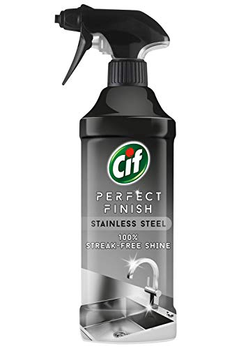Cif Perfect Finish Acero inoxidable (100% brillo sin rayas) 435 ml