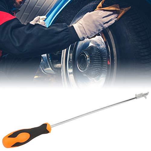 Jopwkuin Gancho para neumáticos Herramienta Multifuncional para neumáticos de Acero Inoxidable, para Piedras, Vasos, Objetos metálicos(Upgrade)