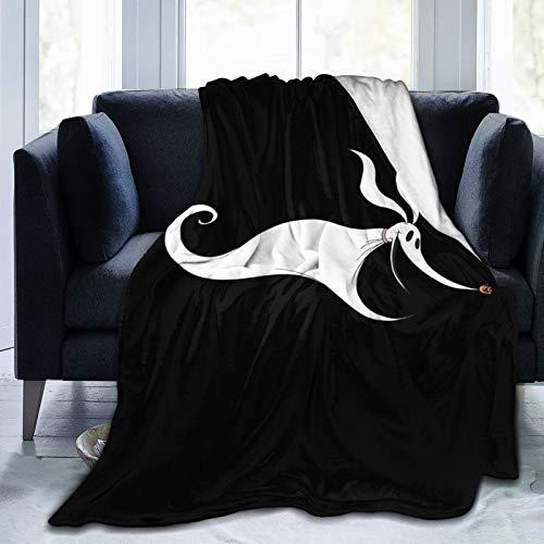 GANHSFYSYA Nightmare Before Christmas Zero Ultra-Soft Micro Fleece Plush Super Cozy All Season Premium Travel Bed Blanket 60'X50'