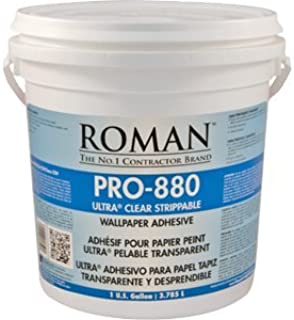 Roman Decorating Roman Professional 012401 PRO-880 1G Ultra Clear Premium Adhesive - 4ct. Case