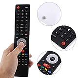 Emoshayoga Controlador Mando a Distancia Universal para TV LED LCD Compatible con Hisense TV