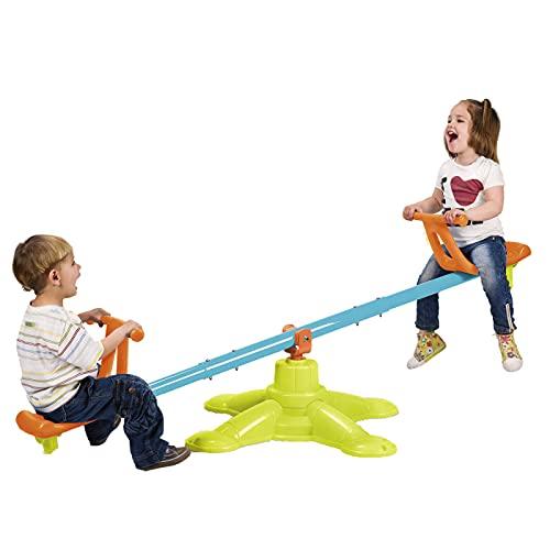 ECR4Kids Spinner Seesaw - Swivel 360 Degree Spinning Teeter-Totter for Kids -...