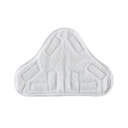 Almohadilla de microfibra para mopa de vapor de limpieza para el hogar, reutilizable, almohadillas de microfibra de repuesto, almohadillas de microfibra lavables, almohadillas de repuesto
