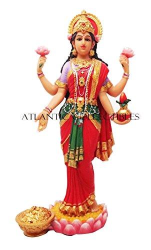 Schöne Lakshmi Statue Gottheit der Schönheit Hindu Göttin des Reichtums Wohlstand