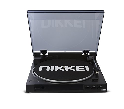 Nikkei NTT01U - Reproductor de grabación con elemento Audio Technica incorporado - Negro
