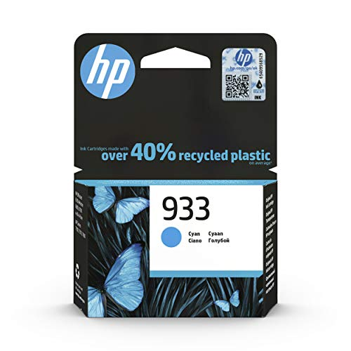 HP 933 Cartucho de Tinta Original Cian