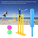 Kids Cricket Set, ABS Interactive Board Game Cricket Play Toys Creative Sports Game Set for Boys and Girls