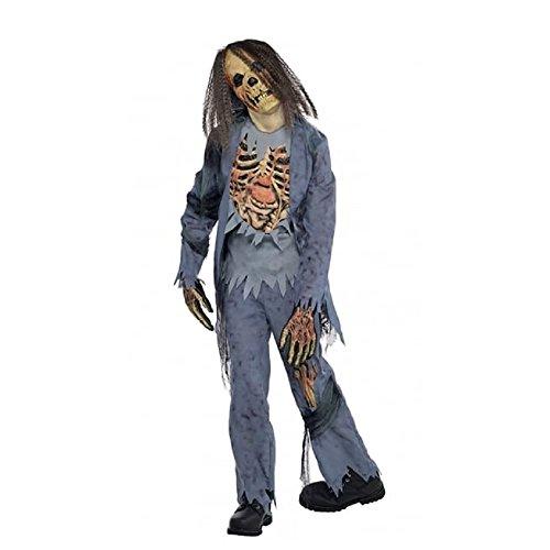Amscan International Zombie Gr. 164162 esqueleto de...