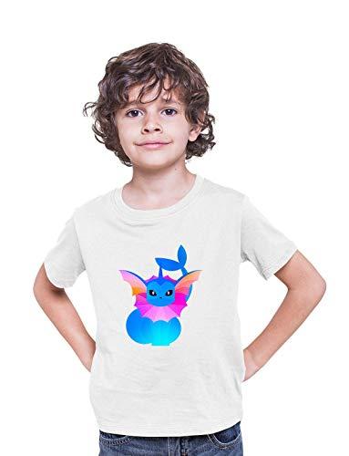 KuziTees Vaporeon Bubble Jet Pokemon Go Camiseta para niños y niñas