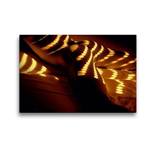 Premium Textil-Leinwand 45 x 30 cm Quer-Format MÄNNER - AKTE ZWISCHEN KRAFT UND SINNLICHKEIT   Wandbild, HD-Bild auf Keilrahmen, Fertigbild auf hochwertigem Vlies, Leinwanddruck von Michael Borgulat