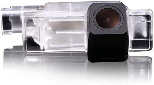 IP68 Wasserdicht Nachtsicht Rückfahrkamera,HD 1280 * 720 Pixel,Kennenzeichen Einparkhilfe Ersatz für Mercedes Citan Kasten/NV300/NV400/Opel/Renault/Smart/Dacia/Fiat (DC1889)