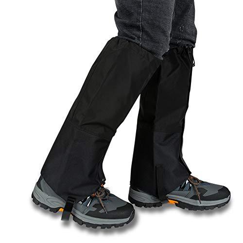 JTENG Outdoor Gamaschen, wasserdichte Gamaschen Gaiter für Outdoor-Hosen zum Wandern, Klettern und Schneewandern Wandernde Gehende Kletternde Jagd-Schnee Atmungsaktiv Legging (Klettverschluss Design)