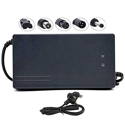 Chargeur De Batterie Lithium-ION 60V 5A Tension D'entrée, Adaptateur De Batterie pour Scooter Électrique Trikes, Chargeur De Batterie Li-ION pour Vélo Électrique, Protection Contre La Température