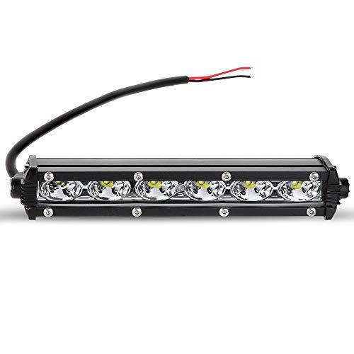 Kraumi LED Arbeitsscheinwerfer, 18W LED Offroad Zusatzscheinwerfer 12V 24V Scheinwerfer 6000K IP67 Wasserdicht Rückfahrscheinwerfer für Trecker KFZ Bagger SUV, UTV, ATV