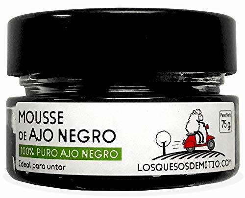 Schwarzer Knoblauch BIO Mousse (150g, zwei Glas, Spanien), Alterungsschutzmittel (antioxidant), schwarz knoblauch von Losquesosdemitio
