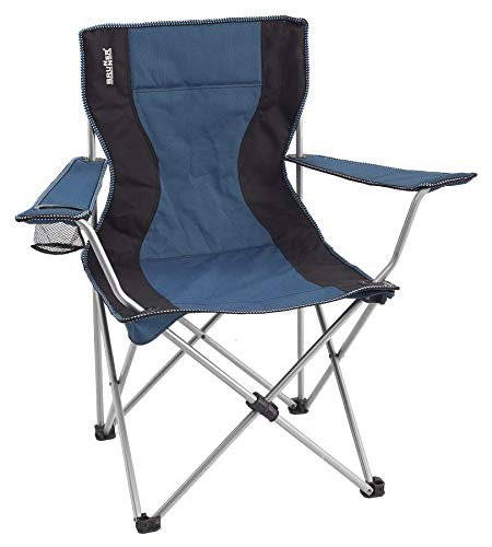 BRUNNER Campingartikel Stuhl Action Sessel (blau/schwarz)