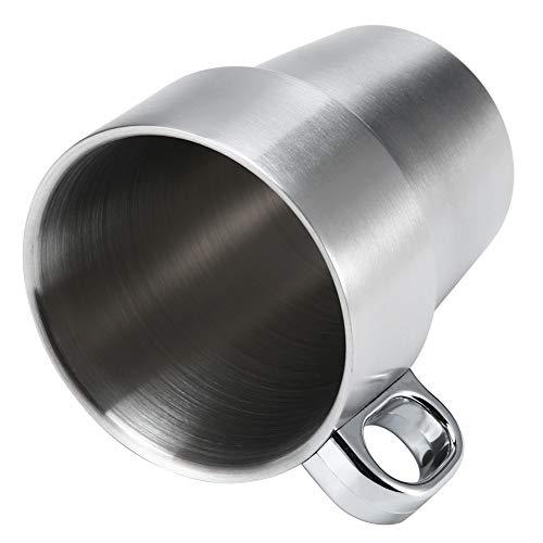 Soporte de taza, taza de agua Diseño doble anti-escaldado Fácil de usar y usar para conservar líquidos como bebidas y sopas
