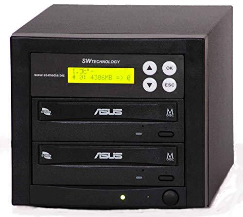 ■SW社製 1対1 DVD・CDデュプリケーター■日本語表示■ASUS Dv使用■DUP-SWDVD11ASU-24