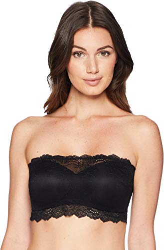 SPANX Women's Undie-Tectable Lightly Lined Better Bandeau, Very Black, Medium