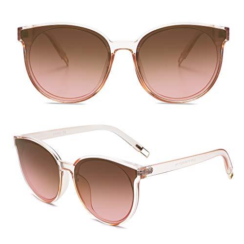 SOJOS Fashion Round Sunglasses f...