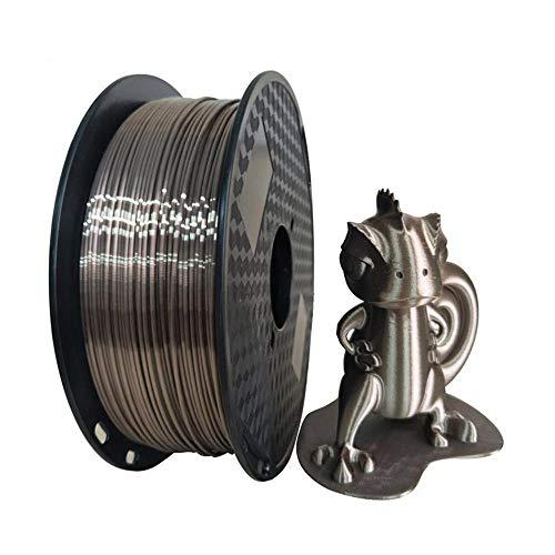 Duan Lámparas de Impresora PLA 3D, Fibra de Carbono 1,75 Alambre de filamentos de PLA, Eje de Impresora 3D (1 kg)