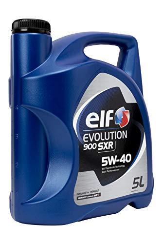 ELF ACELF5W405L 5W40 Huile Moteur, 5L Evolution, 5 Litros
